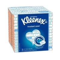 Kleenex Kleenex Trusted Care Facial Tissue, 2 Ply, 70 Each