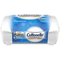 Cottonelle Flushable Moist Wipes, 42 Each