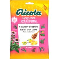 Ricola Ricola Honey Lemon Cough Drops, 45 Each