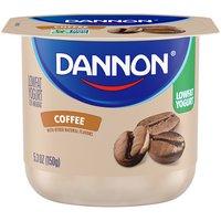 Dannon Coffee Flavored Lowfat Yogurt, 5.3 Ounce