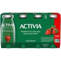 Activia Probiotic Dailies Strawberry Yogurt Drink, 24.8 Fluid ounce