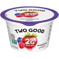 Light & Fit Two Good Mixed Berry Greek Yogurt, 5.3 Ounce