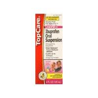 Top Care Children's Ibuprofen Oral Suspension - Bubble Gum, 4 Fluid ounce