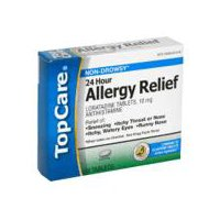 Top Care 24 Hour Allergy Relief, 10 Each