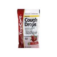 Top Care Cough Drops - Cherry Menthol, 30 Each