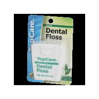 Top Care Top Care Waxed Dental Floss - Mint, 1 Each