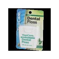 Top Care Waxed Dental Floss - Mint, 1 Each