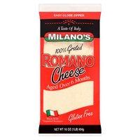 Milano's Cheese Grated - Pecorino Romano, 16 Ounce