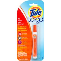 Tide To Go Instant Stain Remover Liquid, 0.33 Fluid ounce
