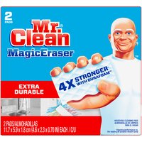 Mr. Clean Magic Eraser Cleaning Pads with Durafoam, 2 Each