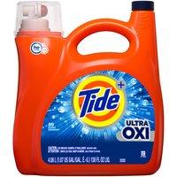 Tide Tide Ultra Oxi Liquid Detergent, 138 Fluid ounce