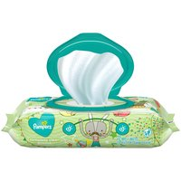 Pampers Complete Clean wipes clean from top to bottoms. 4X stronger for a durable, yet gentle clean (Vs. leading U.S. subbrand). Free of alcohol, perfume, parabens, phenoxyethanol, and dyes.