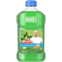 Mr. Clean Mr. Clean with Gain Original Scent Multi-Surface Cleaner, 45, 45 Each