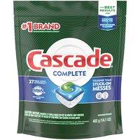 Cascade Complete Fresh Scent Dishwasher Detergent, 14.1 Ounce