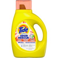 Tide Simply Odor Rescue Liquid Laundry Detergent, Fresh, 31 Fluid ounce