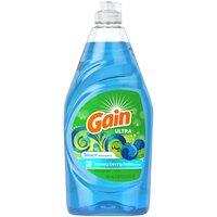 Gain Ultra Dishwashing Liquid Dish Soap, 21.6 Fluid ounce