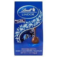 Lindt Lindor Truffles - Dark Chocolate, 5.1 Ounce