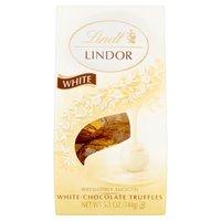 Lindt Lindor Truffles - White Chocolate, 5.1 Ounce