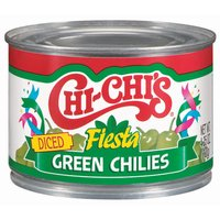 CHI-CHI'S FOODS Diced Fiesta Green Chilies, 4.25 Ounce