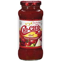 CHI-CHI'S SAUCES CHI-CHI'S SAUCES Hot Thick & Chunky Salsa, 16 Ounce