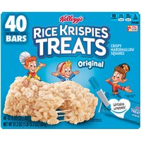 Rice Krispies Treats Crispy Marshmallow Squares, 31.2 Ounce