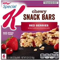 Red Berries Chewy Snack Bars - 6 count, 5.28 Ounce