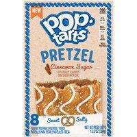 Pop-Tarts Pretzel Cinnamon Sugar Toaster Pastries, 8 Each