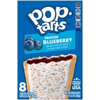 Kellogg's Pop-Tarts Kellogg's Pop-Tarts Kellogg's Pop-Tarts Frosted Blueberry 13.5oz, 13.5 Ounce