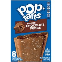 Kellogg's Pop-Tarts Kellogg's Pop-Tarts Kellogg's Pop-Tarts Frosted Chocolate Fudge 13.5oz, 13.5 Ounce