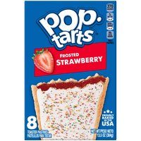 Kellogg's Pop-Tarts Kellogg's Pop-Tarts Kellogg's Pop-Tarts Frosted Strawberry 13.5oz, 13.5 Ounce