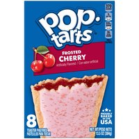 Kellogg's Pop-Tarts Kellogg's Pop-Tarts Kellogg's Pop-Tarts Frosted Cherry 13.5oz, 13.5 Ounce