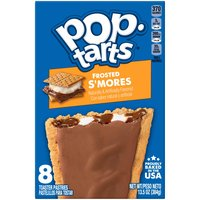 Kellogg's Pop-Tarts Kellogg's Pop-Tarts Kellogg's Pop-Tarts Frosted Smores 13.5oz, 13.5 Ounce