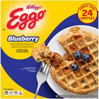 Naturally & artificially flavored. 10 Vitamins & minerals. Good source of calcium.  24 waffles.
