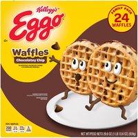 10 Vitamins & minerals. Good source of calcium. 24 waffles.