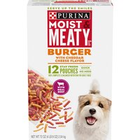Purina Burger with Cheddar Cheese Flavor 12 ct Box, 72 Ounce