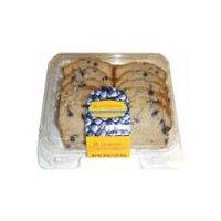 Sliced blueberry loaf