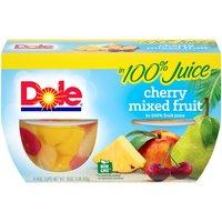 Dole Fruit Bowls - Cherry Mixed Fruit - 4 ct, 16 Ounce