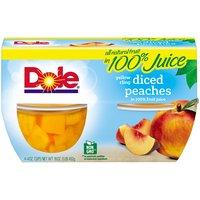 Dole Fruit Bowls - Diced Peaches, 16 Ounce