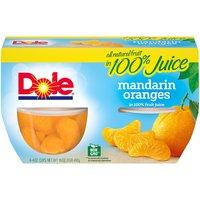 Dole Fruit Bowls - Mandarin Oranges - 4 ct, 16 Ounce