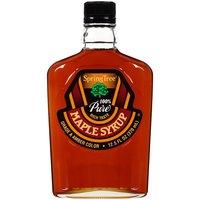 100% Pure Grade A Dark Amber. Kosher.