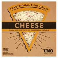 UNO Pizzaria & Grill Traditional Thin Crust Cheese Pizza, 31 Ounce