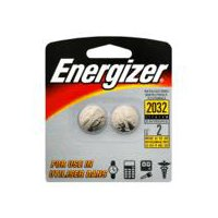 Energizer Watch/Electronic Batteries - 3V - 2032, 2 Each