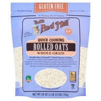 Bob's Red Mill Gluten Free Quick Cook Rolled Oats, 28 Ounce