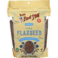 Bob's Red Mill Organic Premium Whole Flaxseed, 13 Ounce