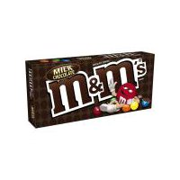 M&M'S Milk Chocolate Candy Movie Theater, 3.1 Ounce