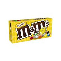 M&M'S Peanut Chocolate Candy is a little nutty, a lot tasty and always full of fun. Enjoy roasted peanuts covered in delicious chocolate and a colorful candy shell. The box features a reclosable pack.
