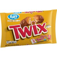 TWIX Caramel Fun Size Chocolate Cookie Candy Bars, 10.83 Ounce