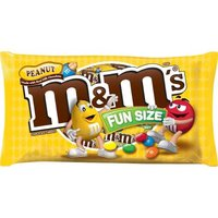 M&M'S Peanut Chocolate Candy is a little nutty, a lot tasty and always full of fun