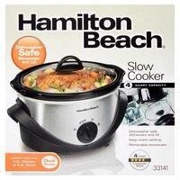 Hamilton Beach 4 Quart Oval Slow Cooker, 1 Each