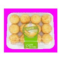 Cafe Valley Mini Corn Muffins, 10.5 Ounce